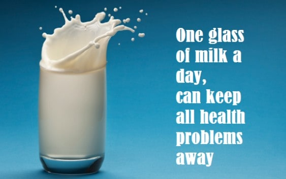 Health Benefits of Drinking Milk