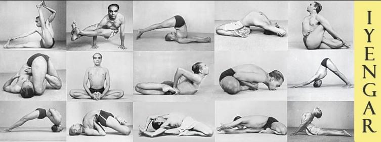 BKS iyenger yoga teacher