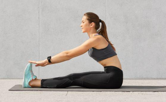 full body stretching and workout