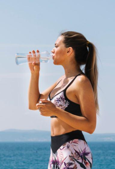 drinking water post and pre workout