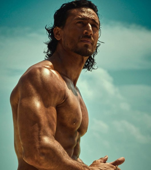 Tiger Shroff shirtless pics