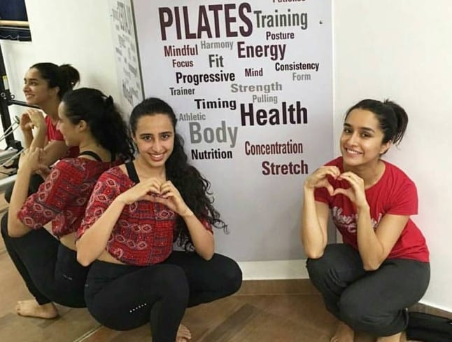 pilates training and shraddha kapoor fitness mantra
