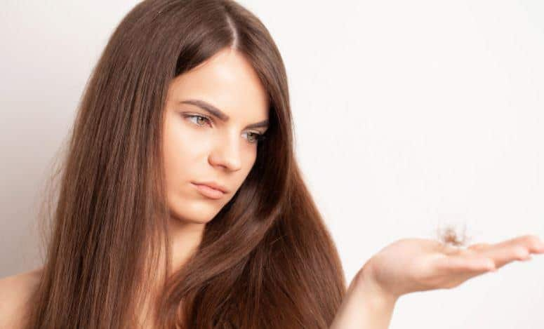 hair fall or hair loss issues
