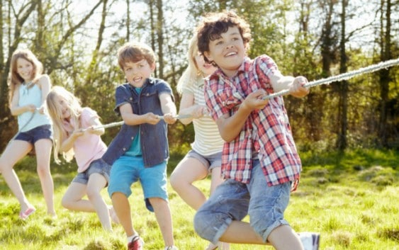 health benefits for kids playing outside