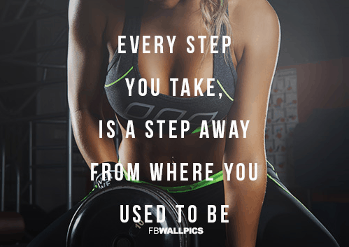 fitness and motivation mantra
