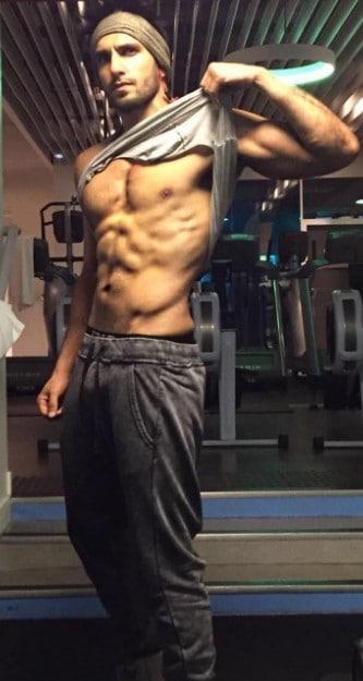 Ranveer Singh workout routine