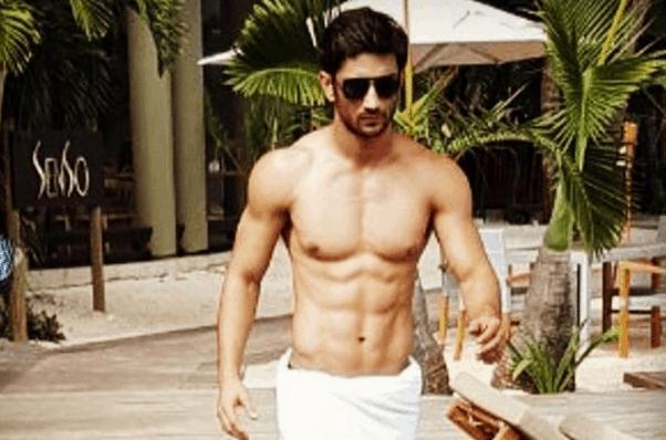 sushant singh rajput body fitness pics