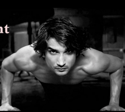 sushant singh rajput body gym fitness