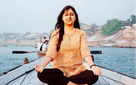 Aastha in meditation and yoga, health and fitness mantra, beauty secrets