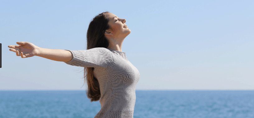 deep breathing exercise for healthy body