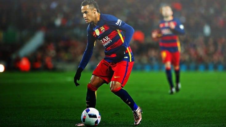 Neymar Junior workout