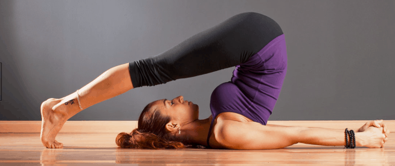 how to yoga for back pain relief, halasana plow pose