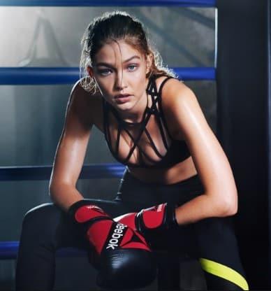 Gigi Hadid Boxing