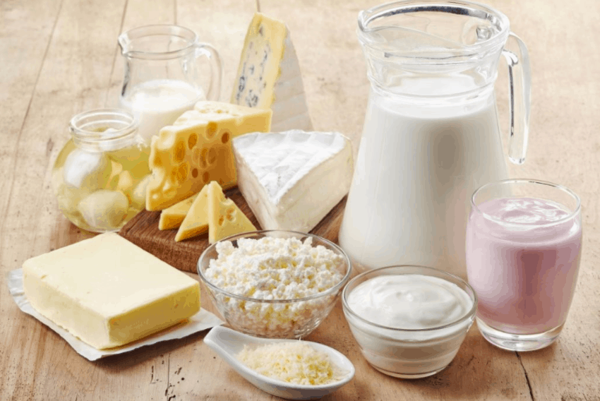 dairy diet plan for healthy body