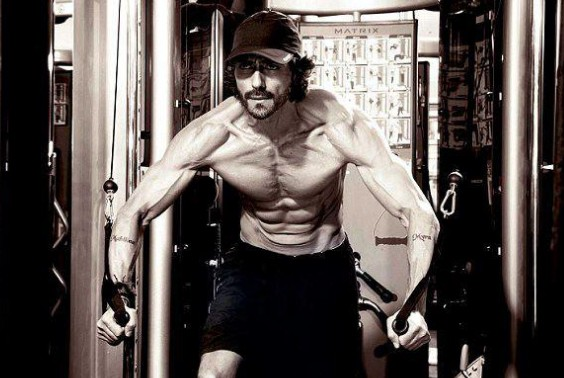 Arjun Rampal in Gym