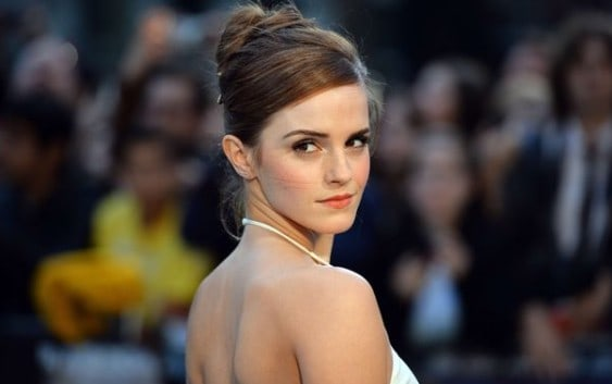 Emma Watson Backless