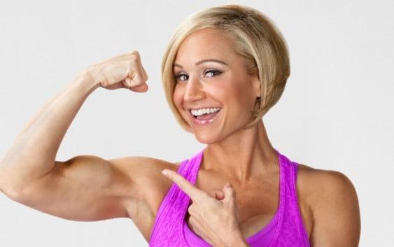 Jamie Eason muscles