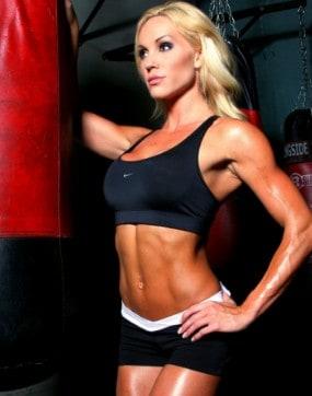 Mindi Smith gym workout