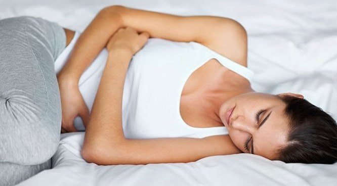 Stomach Ache could be a sign of UTI