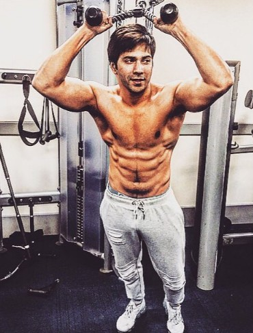 Varun Dhawan Workout routine