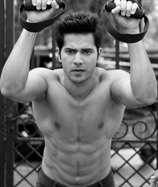 Varun Dhawan exercise