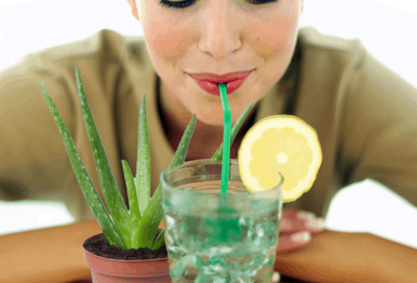 aloe vera detox drink home made natural