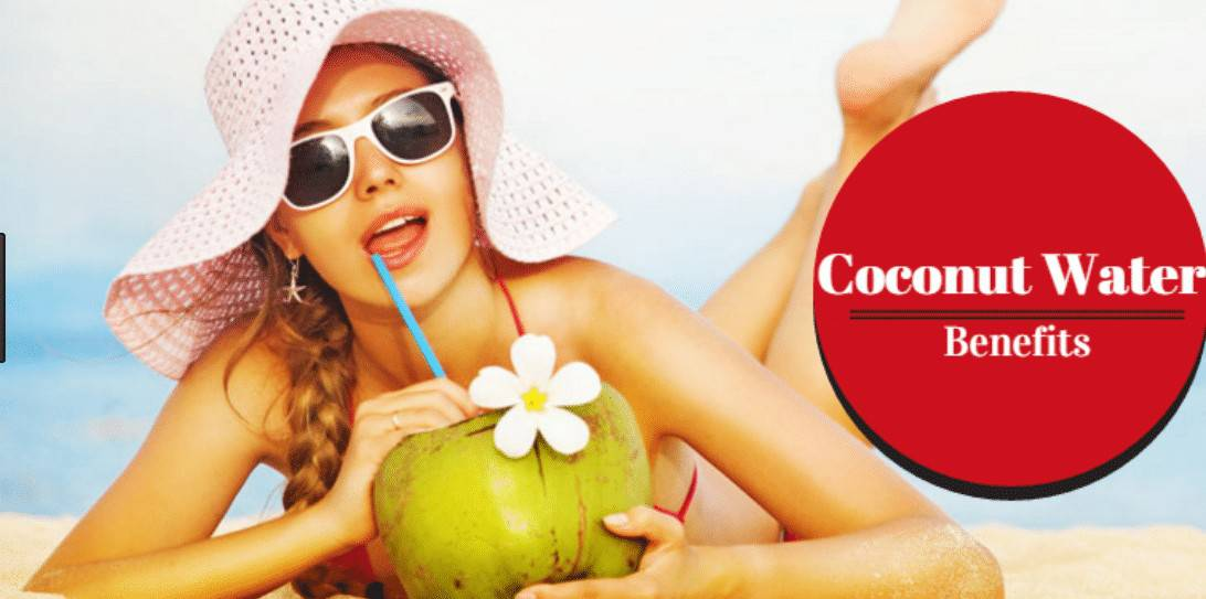 coconut water health benefits -glowing face