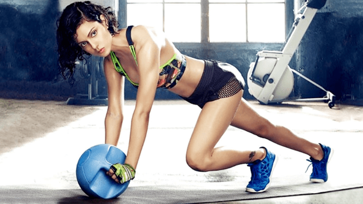 fitness workout routine and diet plan of kangana ranaut