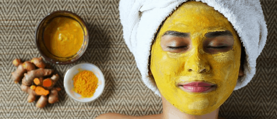 saffron and sandalwood facepack; herbal beauty tips