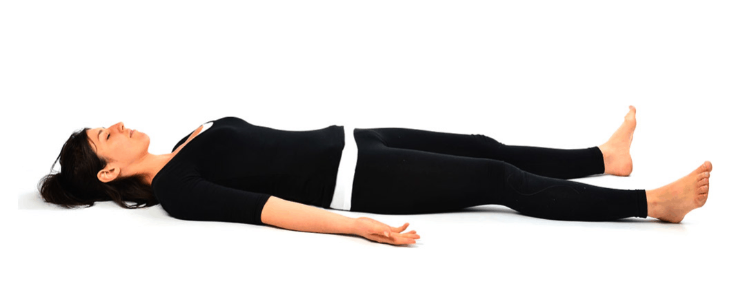 Shavasana or (corpse pose)