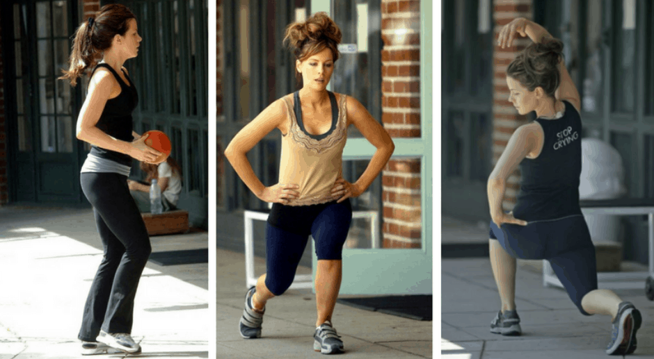 kate beckinsale fitness mantra