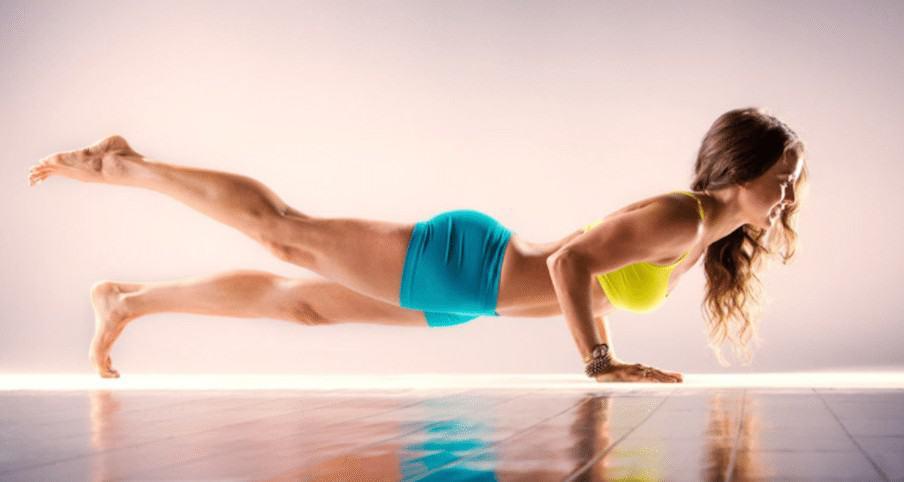 yoga girl yogi mudra fitness
