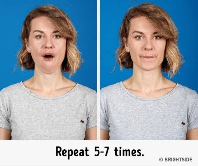 double chin reduce remedies