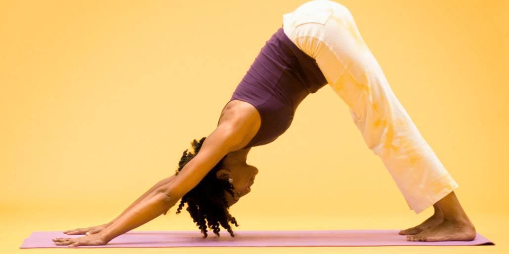downward dog half plank power yoga