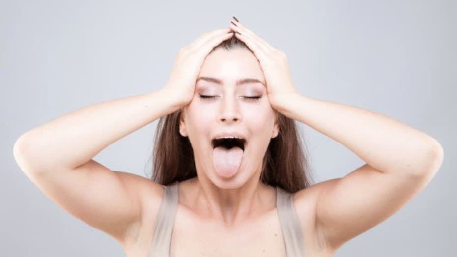 facial yoga for double chin problem