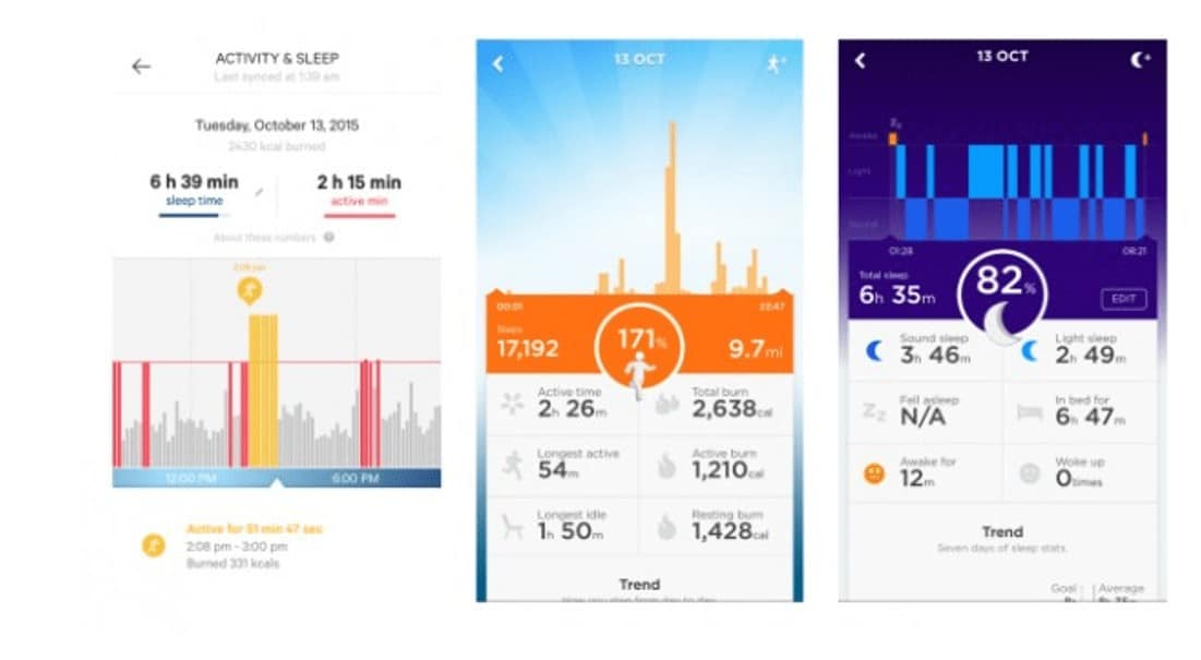 moov now fitness app features
