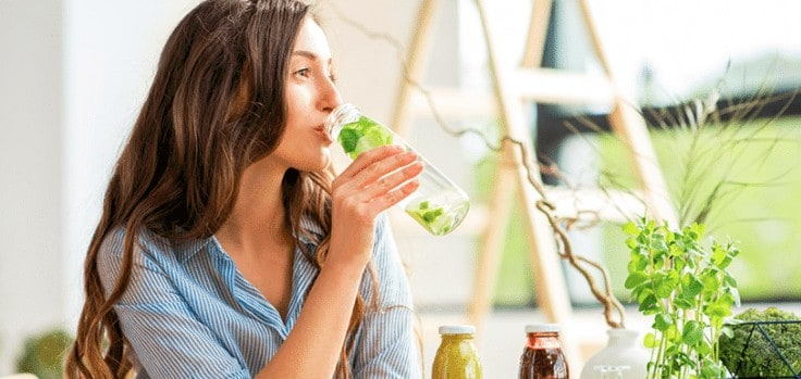 ayurveda drinks and detox drinks