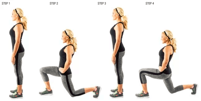 lunges best way for building leg muscles