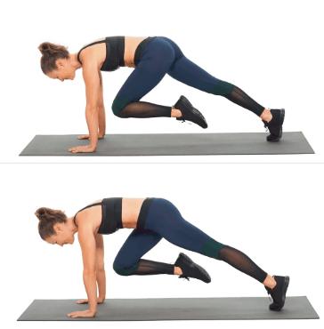 mountain climber workout technique