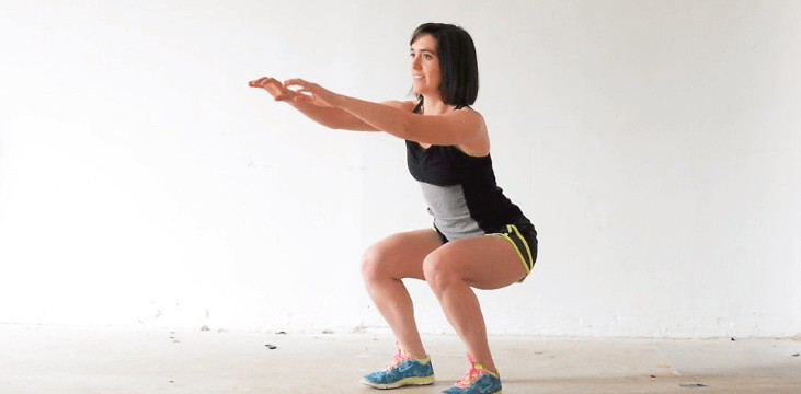 normal squats exercise for beginners