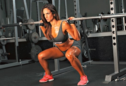 squats gym workout lower body