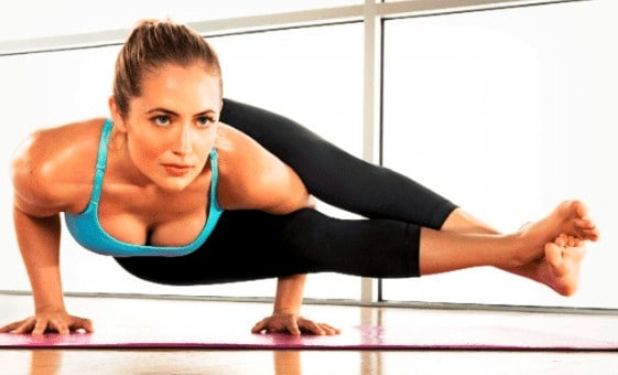 kathryn budig sexy yoga exercises