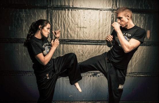 defence workout technique krav maga