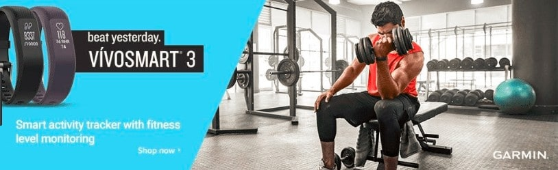 garmin vivosmart fitness watch
