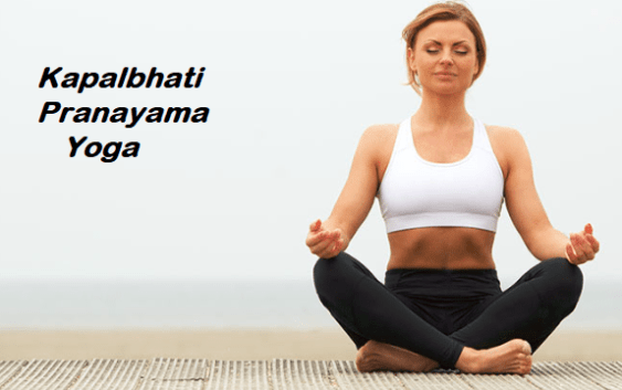 how to do kapalbhati yoga and pranayama
