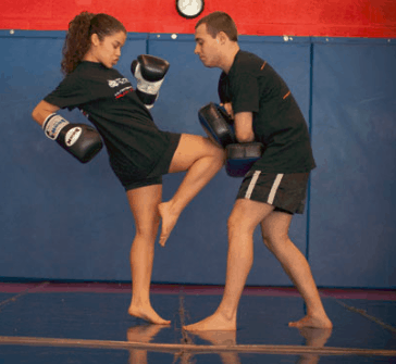 knee strike defence
