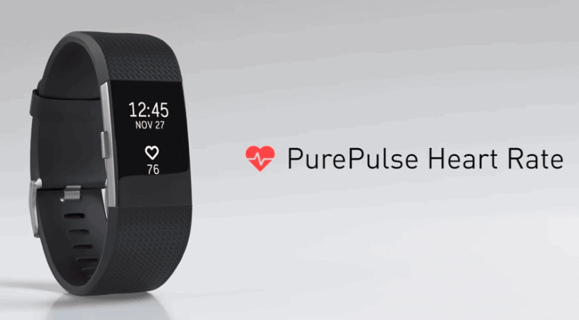 pulse heart rate tracker fitbit watch