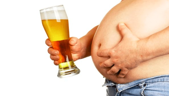 drinking alcohol makes fat