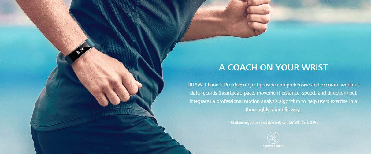fitness band tracker by huawei band 2