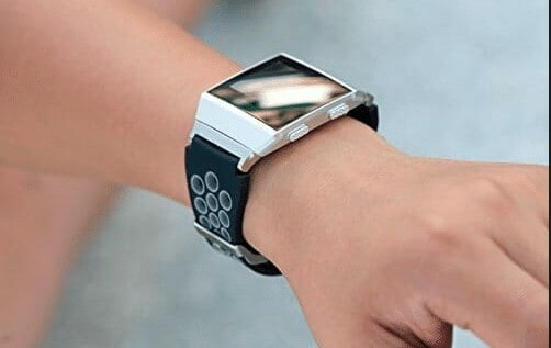 ionic fitbit stylish looks and design